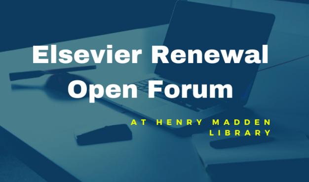 Elsevier Forum