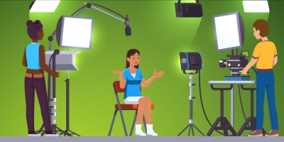 Video Studio Illustration