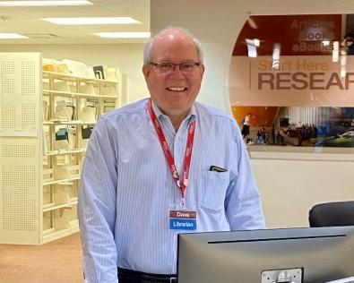 Librarian Dave Tyckoson