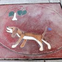 dog mosaic