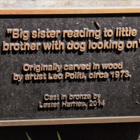 Big Sister plaque