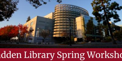 Madden Library Spring Workshops