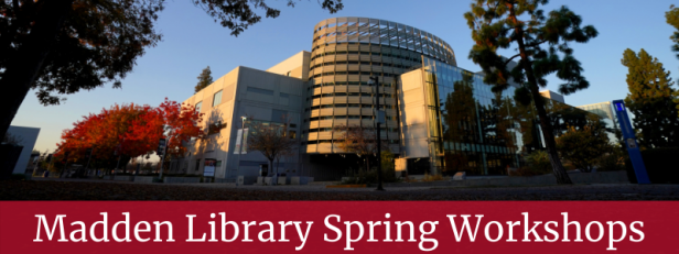 Spring Library Workshops Slider