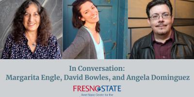 In Conversation: Margarita Engle, David Bowles, and Angela Dominguez