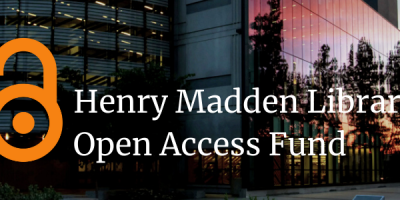Henry Madden Library Open Access Fund