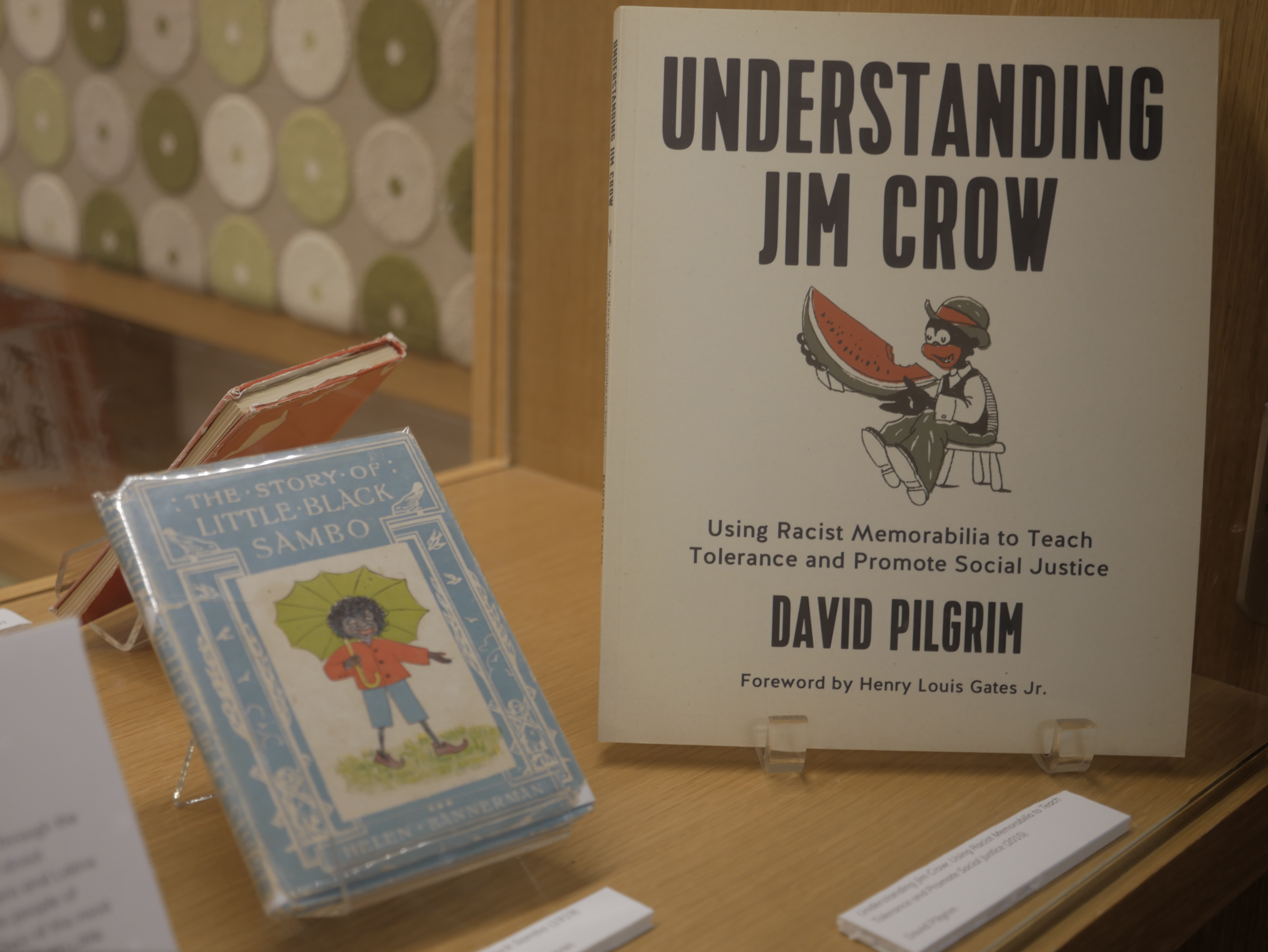 Understanding Jim Crow and an archived book of little black sambo